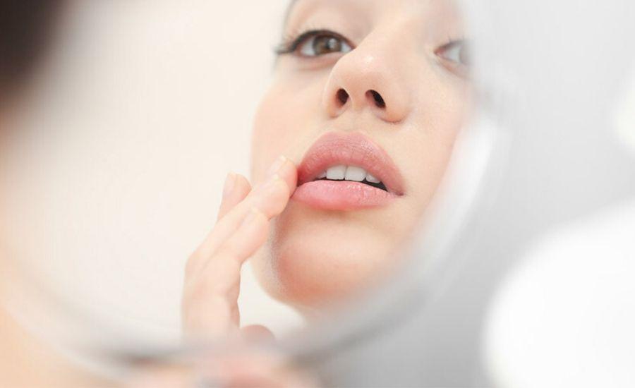 Perfect lip filler treatment